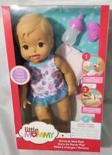 Mattel Little Mommy Drink and Wet Doll NIB NRFB 2+ Box #21
