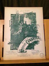 Emmanuel Chabrier L'ïle heureuse partition chant piano éditions Enoch tén./sop.
