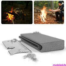 Al aire libre de supervivencia magnesio pedernal  incendio starter kit camping