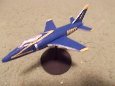 Built 1/144: American GRUMMAN F-11 TIGER Aircraft US Navy Blue Angels