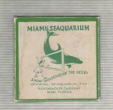 Miami Seaquarium 8 MM Movie Reel Aqua Antics
