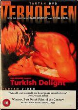 Turkish Delight -1973 Adult Erotic DVD -RARE (Rutger Hauer/Monique van de Ven)
