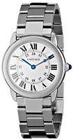 Cartier Women's W6701004 'Rondo Solo' Stainless Steel Watch