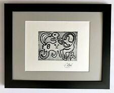 JOAN MIRO ORIGINAL 1971 BEAUTIFUL SIGNED PRINT MATTED 11 X 14 + BUY IT NOW!!