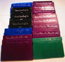 17  Proof Sets 1971 72 80 81 82 83 84 85 86 87 88 89 90 91 92 93 94  Proof sets