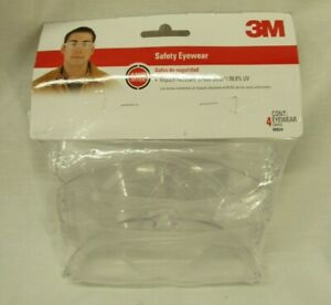 3M™ Indoor Safety Eyewear with Clear Lens, Contractor Pack, 90834-00000B, 4 Pack