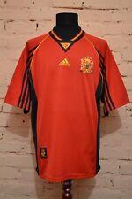 VINTAGE SPAIN NATIONAL TEAM 1998/1999 HOME FOOTBALL SHIRT JERSEY CAMISETA ADIDAS