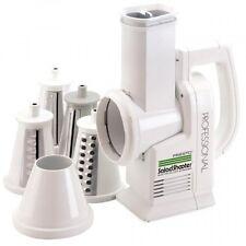 Presto 02970 Professional SaladShooter Electric Slicer/Shredder, White, New