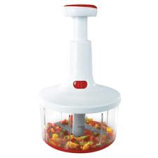 LEIFHEIT 23041 Twist Cut,Manuelle Küchenmaschine,Obstschneider,Gemüseschneider