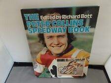 More details for the peter collins speedway book - hand signed by peter collins - 1977 hb book