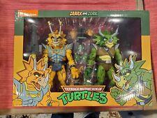 NECA Teenage Mutant Ninja Turtles Target 2-pack TMNT Zarak Zork Triceraton