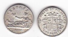 Primera República : 1 Peseta 1870 ( REPRODUCCIÓN )