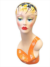 Mannequin Head Bust Wig Hat Jewelry Display #VF007