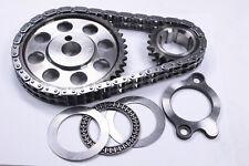 SBF Ford V8 289 302 351 Billet Roller Timing Chain Set w/Torr. Bearing