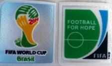FIFA WM 2014 Brasilien + Football for Hope Patch neu