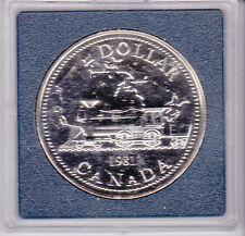 Canada 1981 1 dollar silver coin