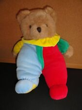 PRIMARY PLUSH BEAR VELOUR 12""