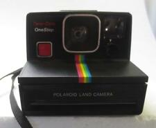 Vintage Polaroid One Step SX-70 Black Rainbow Instant Land Camera -nice