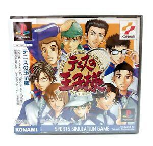 SONY PLAYSTATION PS1 - Tennis no Oji-Sama - Konami - Version Japon