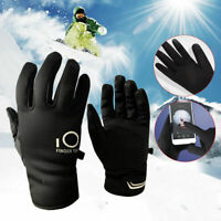 Winter Warm Touch Screen Gloves Men Women Full Finger Anti-slip Sport Cycling US