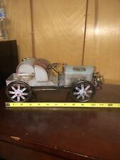 Tin Car Metal Home Decoration Artwork 1910's Bugatti?
