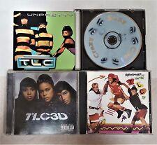 TLC - 4 CD LOT: 3D-CRAZY SEXY COOL-OOOOOOOHHH ON THE TLC TIP-UNPRETTY SINGLE!