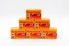 6 ROLLS OF KODACHROME 64 24 EXP EXPIRED BUT KEPT FROZEN
