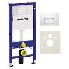 Geberit Duofix Basic Vorwandelement Schallschutzset Delta 50 Platte UP100 WC-Set