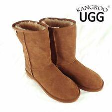 Sheepskin Ankle Boots for Women