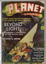 ORIGINAL Winter 1940 20c PLANET STORIES Mag! Original Planets Illustrated Title!