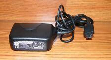 Genuine LG (STA-P52WS) Solid Black Wired Cell Phone Wall Charger Only **READ**