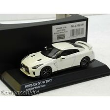 NISSAN GT-R R35 2017 BRILLIANT WHITE PEARL KYOSHO MODEL 1/43 #03893W