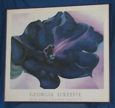 "GEORGIA O'KEEFFE New York Graphic Society Framed Poster PETUNIA  33"" x 30"""