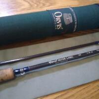 Orvis Silver Label Fullflex4.0 837-2 Fly Fishing Rod w / Rod Case Used