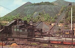Modern Coal Breaker, Anthracite Region of Pennsylvania Postcard