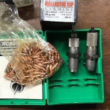 RCBS 22-250 2 Die Set With Extras. Lightly used.
