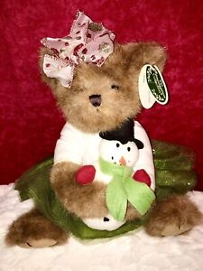 "NEW! 12"" Bearington ""FELCITY & FROSTBITE"" Plush Bear #173179 Plush"
