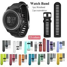 Sport Silicone Silicone Wrist Band Strap Bracelet For Garmin Fenix 3 5 5X 5S 6 6