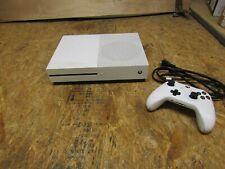 Microsoft Xbox One S (1681) 500 GB Slim White Console        (Lot 1165)