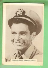 #D115. 1960s  TV  FAN CARD - DEAN JONES OF ENSIGN O'TOOLE