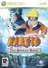 Naruto The Broken Bond Xbox 360 PAL UK **FREE UK POSTAGE!!** No manual