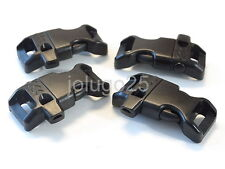 """50 1/2"""" Curved Whistle Release Buckles for Paracord Bracelets Webbing #37123-50"""