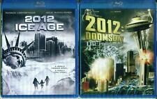 2012 ICE AGE+DOOMSDAY*End of the World*Action/Sci-Fi NEW 2 BLU-RAY