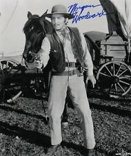 "OFFICIAL WEBISTE Morgan Woodward ""Westward Ho the Wagons"" 8x10 AUTOGRAPHED"