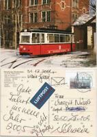 Naumburg (Saale) Naumburger Straßenbahn Tw 23 Bj. 1956/Gotha 2005