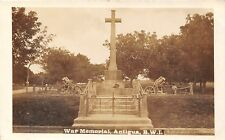 POSTCARD    WEST  INDIES  ANTIQUA  War  Memorial