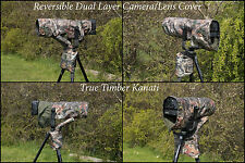 Reversible Waterproof Kanati Camo Camera/Lens Cover for Canon 600mm F4 MK I & II