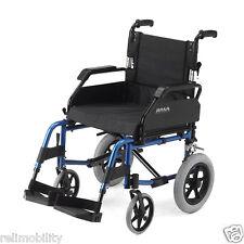 Roma Medical Lightweight Aluminium Car Transit Wheelchair