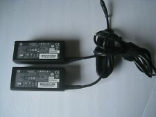 Lot of 2 Genuine HP 608421-001 18.5V 3.5A 65W Pavilion Laptop AC Adapter