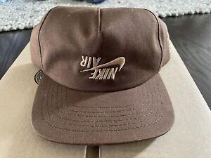 Authentic Cactus Jack x Nike Air Jordan Travis Scott HITR Highest Cap Brown Hat